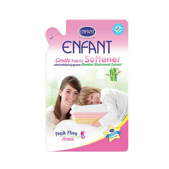 Enfant ผลิตภัณฑ์เด็ก ปรับผ้านุ่มเด็ก สีชมพู 700 มล.