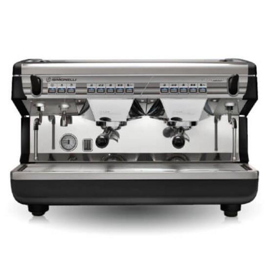 เครื่องชงกาแฟ Nuova รุ่น Appia II 2หัวกรุ๊ป Auto สีดำ
