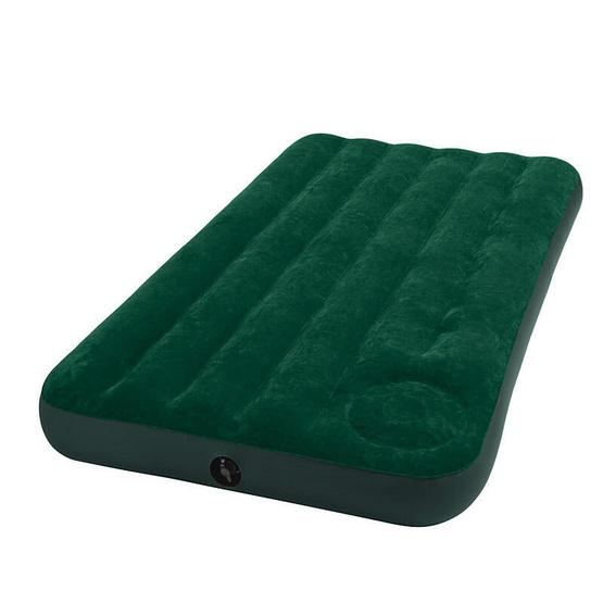 INTEX ที่นอนเป่าลม มีที่สูบลมในตัวที่นอน ขนาดเตียงเดี่ยวทวิน ไซส์ 3 ฟุต