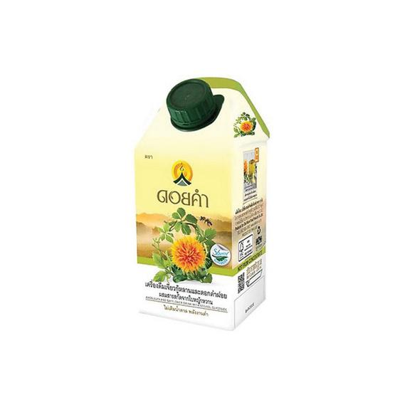 ดอยคำ น้ำเจียวกู้หลานและดอกคำฝอยสูตรไม่เติมน้ำตาล 500 มล. ขายยกลัง (12 กล่อง)