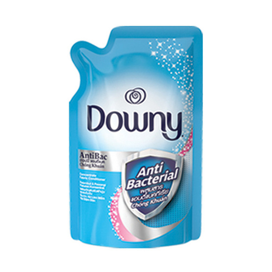 Downy น้ำยาปรับผ้านุ่ม แอนตี้แบค 600 มล. ถุงเติม สีฟ้า