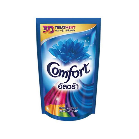 Comfort อัลตร้า น้ำยาปรับผ้านุ่ม 1600 มล. สีฟ้า