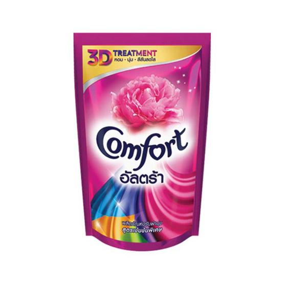 Comfort อัลตร้า น้ำยาปรับผ้านุ่ม 1600 มล. สีชมพู