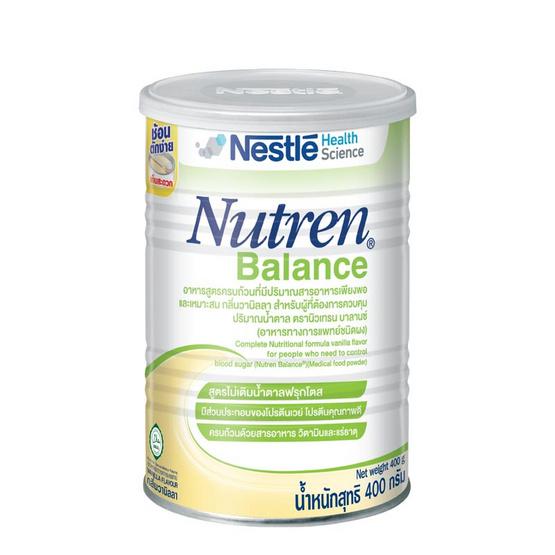 นิวเทรน บาลานซ์ อาหารทางการแพทย์ชนิดผง 400 กรัม