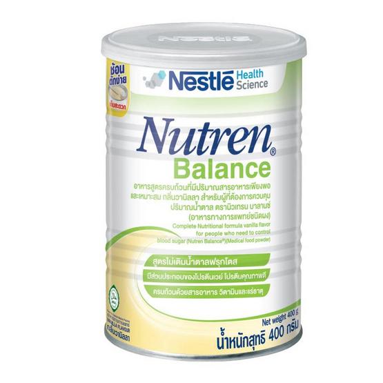 NUTREN BALANCE อาหารทางการแพทย์ชนิดผง 400 กรัม