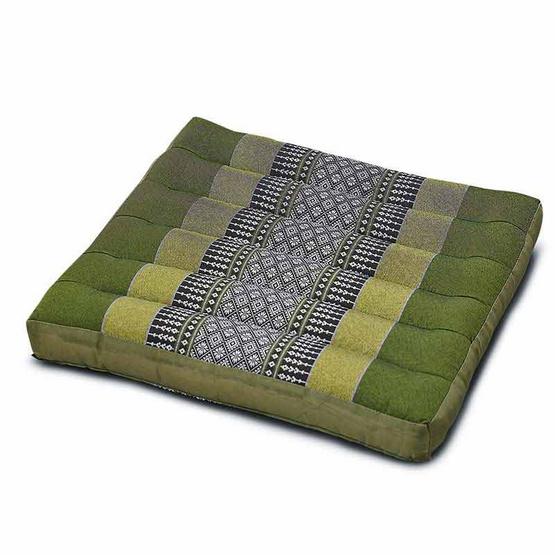 Coloris เบาะรองนั่งเล็กลายขิด 37 x 38 ซม. สีเขียว คละลาย