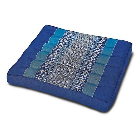 Coloris เบาะรองนั่งเล็กลายขิด 37 x 38 ซม. สีน้ำเงิน คละลาย