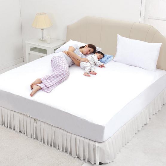 INTEND CARE แผ่นกันเปื้อนที่นอน กันไรฝุ่น 6 ฟุต แพ็กคู่