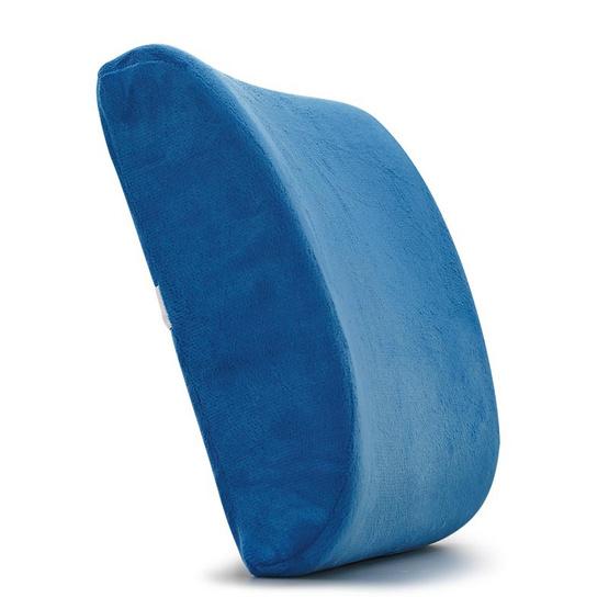 PJ เบาะรองหลัง เมมโมรี่โฟม สีน้ำเงิน