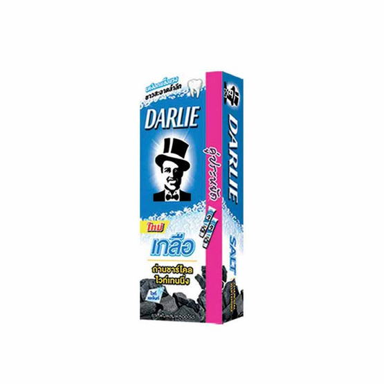 Darlie ยาสีฟัน สูตรเกลือ ถ่านชาร์โคล ไวท์เทนนิ่ง 140 กรัม