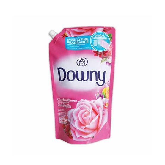 Downy น้ำยาปรับผ้านุ่ม กลิ่นการ์เด้น บลูม 1,600 มล. ถุงเติม สีชมพู
