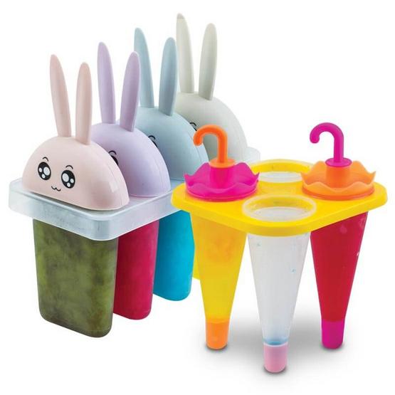 ที่ทำไอติมร่มแฟนซี คละสี + กระต่ายน้อย คละสี