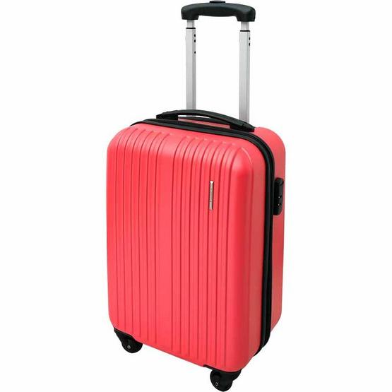 กระเป๋าเดินทาง ไซส์ 20 นิ้ว สีชมพู