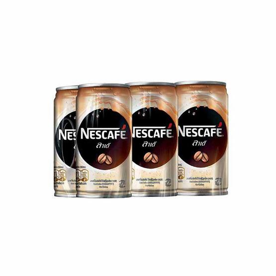 Nescafe เนสกาแฟ กาแฟกระป๋อง ลาเต้ 180 มล.