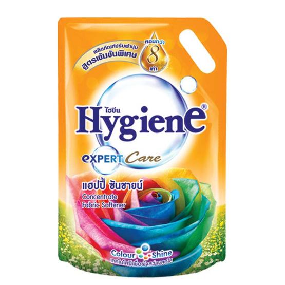 ไฮยีน ผลิตภัณฑ์ปรับผ้านุ่มเข้นข้น กลิ่นแฮปปี้ ซันชายน์ 1500 มล.