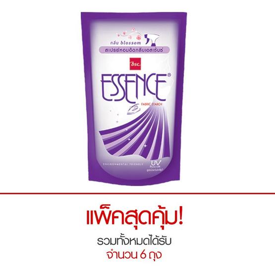 Essence น้ำยาอัดกลีบ กลิ่นบลอสซั่ม สีม่วง 600 มล. (แพ็ก 3 ถุง)