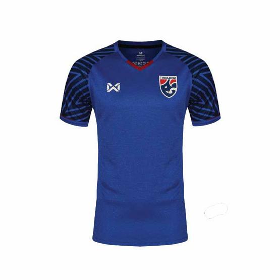 Warrix เสื้อเชียร์ทีมชาติไทยสีน้ำเงิน ผู้ชาย