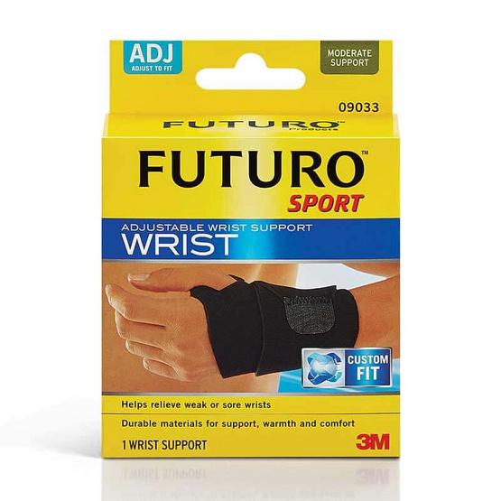 Futuro ผ้ายืดพยุงเฉพาะข้อมือ แบบสปอร์ต รุ่นปรับกระชับได้