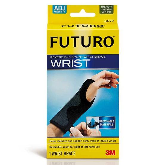 Futuro ผ้ายืดพยุงข้อมือเสริมแถบเหล็ก รุ่นปรับกระชับได้
