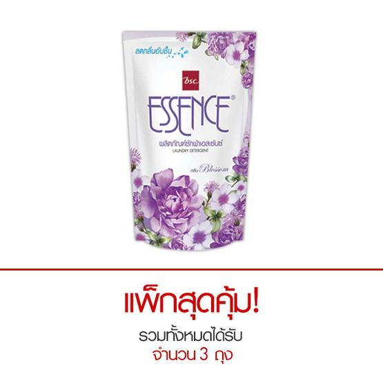 Essence ผลิตภัณฑ์ซักผ้าชนิดน้ำ กลิ่นบลอสซั่ม 400 มล. สีม่วง