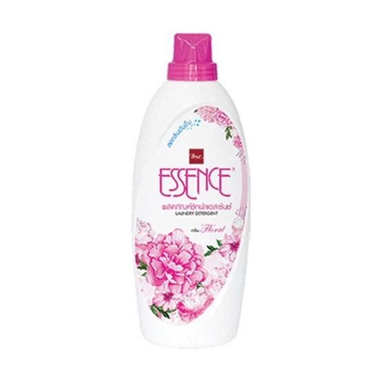 Essence ผลิตภัณฑ์ซักผ้าชนิดน้ำ กลิ่นฟลอรัล 900 มล. สีชมพู