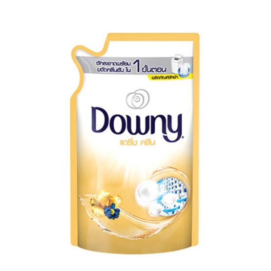 Downy ผลิตภัณฑ์ซักผ้า กลิ่นแดร์ริ่ง คลีน 600 มล. ถุงเติม สีทอง