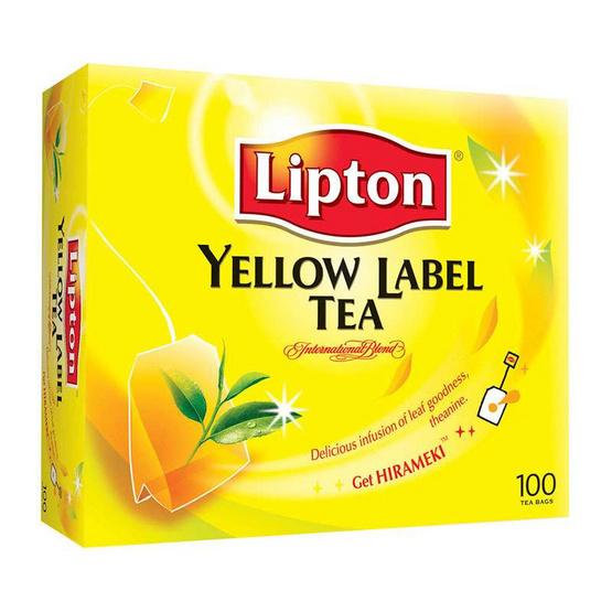 ลิปตัน เครื่องดื่มชาปรุงสำเร็จชนิดซอง 100 ซอง