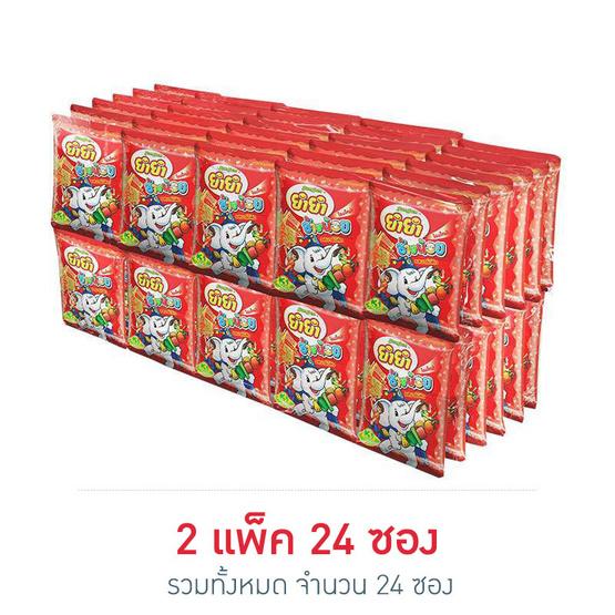 ยำยำ ช้างน้อย รสบาบีคิว (2 แพ็ค 24 ซอง)