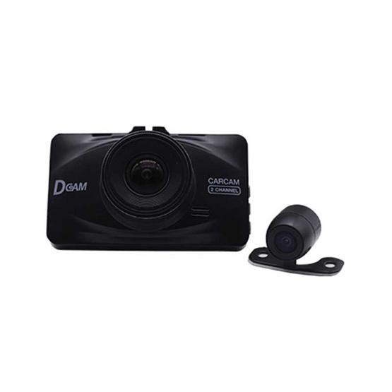 Dcam กล้องติดรถยนต์ Pro2 Dual Full HD 1080P