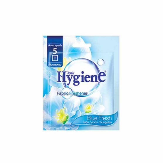 ไฮยีน ถุงหอม กลิ่นบลูเฟรช 8 กรัม / ห่อ สีฟ้า