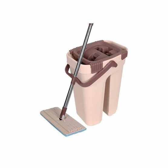 Cleanmate24 ถังม็อปและไม้ถูพื้นแบบรีดน้ำ 2 In 1 พร้อมถัง