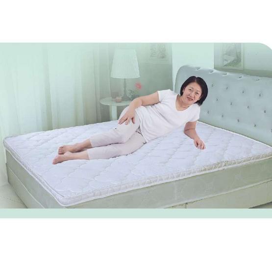 PJ ที่นอนท็อปเปอร์ยางพารา 100% ขนาด 3 ฟุต หนา 2 นิ้ว