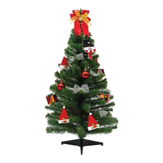ต้นคริสมาสต์ 3 ฟุต [13011-2(3 Ft.)] คละของตกแต่ง