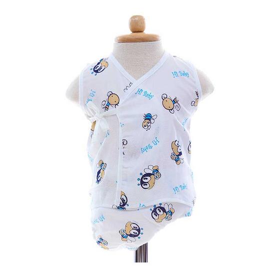 Shawn's Baby เสื้อแขนกุดพร้อมกางเกงผ้าอ้อม ลายการ์ตูนรูปผึ้ง