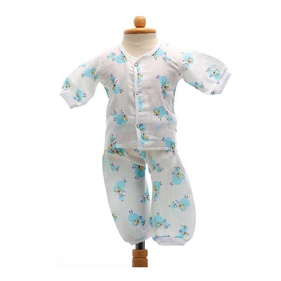 Shawn's Baby เสื้อแขนยาวพร้อมกางเกงขายาว ลายการ์ตูนรูปแกะ