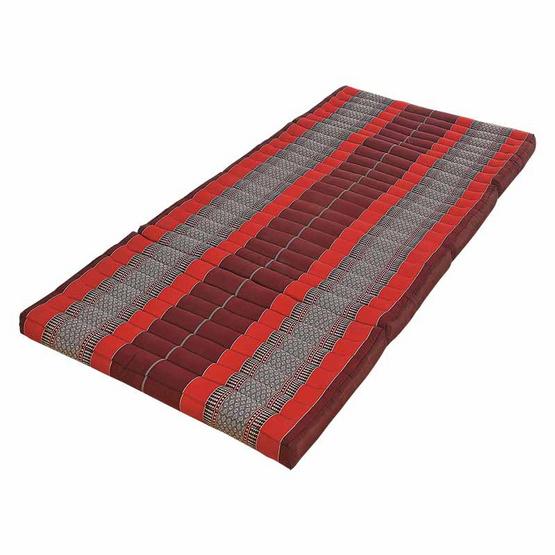 Coloris ที่นอนระนาดลายขิด ขนาดกลาง สีแดง