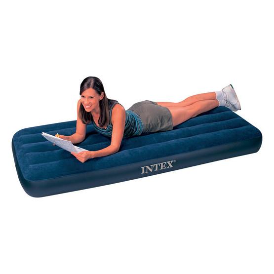 INTEX ที่นอนเป่าลมแบบใช้ที่สูบลม 2.5 ฟุต
