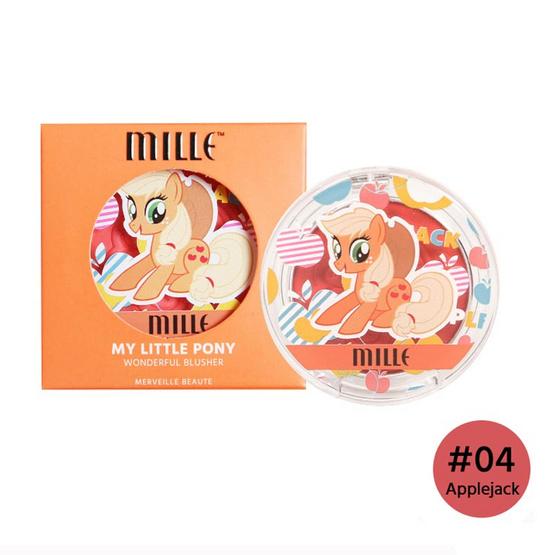 Mille My Little Pony Wonderful Blusher #04 Applejack