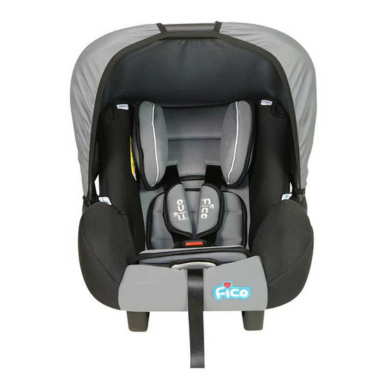 Fico Carseat รุ่น GE-A สีเทา