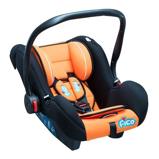 Fico Carseat รุ่น GE-A สีส้มเขียว