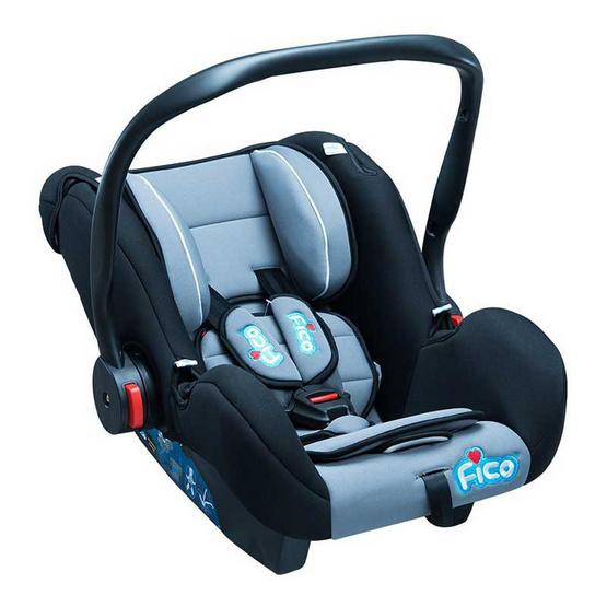Fico Carseat รุ่น GE-A สีเทาดำ