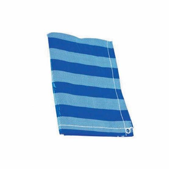 ผ้าใบพลาสติกสีฟ้าขาว 2 x 3 เมตร