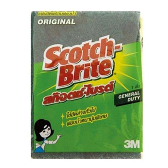"""Scotch-Brite สก๊อตช์-ไบรต์ จัมโบ้แผ่นเดี่ยว 6""""x9"""" (ยกลัง)"""