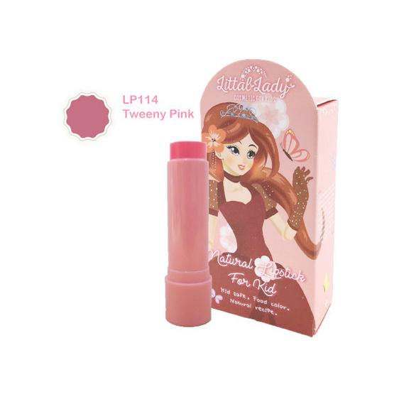 Littal Lady ลิปสติกเด็กสีชมพูสดใส