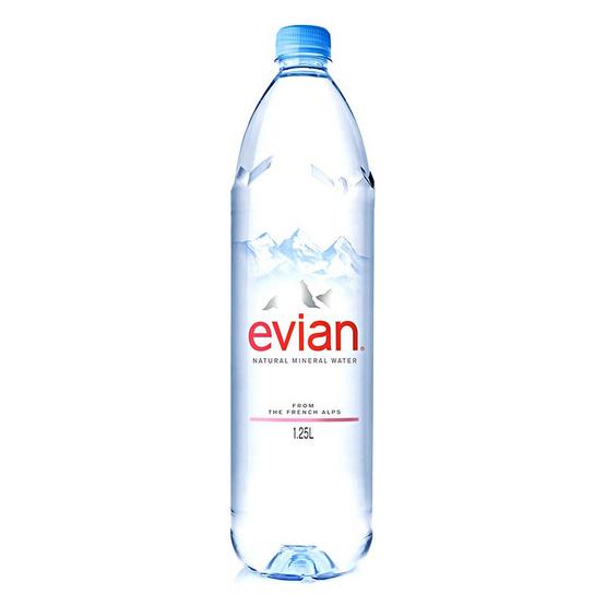 เอเวียง น้ำแร่ธรรมชาติขวดพลาสติก 1.25 ลิตร