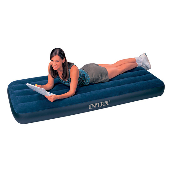 INTEX ที่นอนเป่าลมแบบใช้ที่สูบลม 3.5 ฟุต