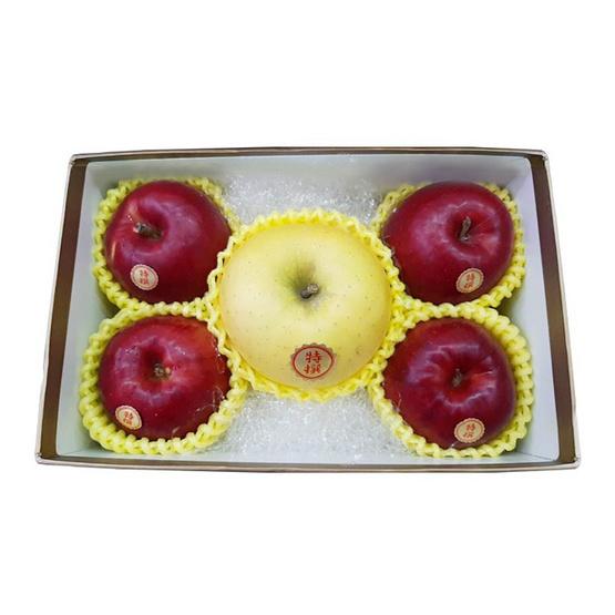 Jewel 8 แอปเปิ้ลแดง 4 ลูก / ชินาโนโกลด์ 1 ลูก