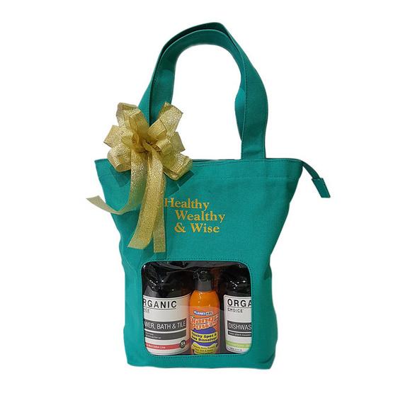 Orange Power & Organic Choice Christmas & New Year Gift Set Size M เซ็ตผลิตภัณฑ์ทำความสะอาด