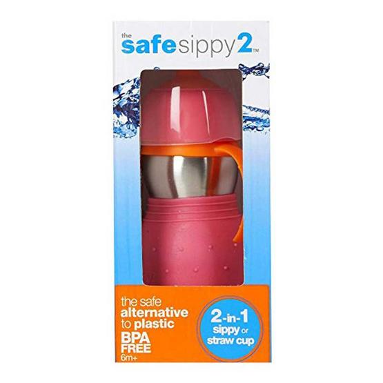 The Safe Sippy ขวดหัดดื่ม รุ่น 2 in 1