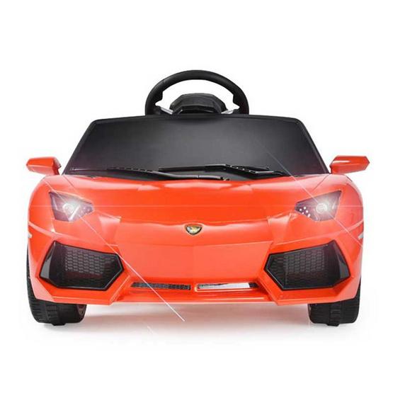 รถแบตซุปเปอร์คาร์สำหรับเด็ก แลมโบกินี่ รุ่นอเวนทาดอร์